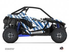 Kit Déco SSV Krack Polaris RZR PRO XP Bleu