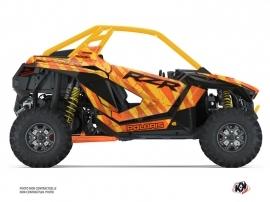 Polaris RZR PRO XP UTV Krack Graphic Kit Orange