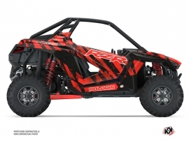Kit Déco SSV Krack Polaris RZR PRO XP Rouge