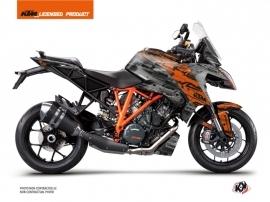 KTM Super Duke 1290 GT Street Bike Krav Graphic Kit Orange Black
