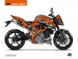 KTM Super Duke 990 R Street Bike Krav Graphic Kit Black Orange