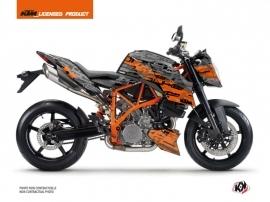 KTM Super Duke 990 R Street Bike Krav Graphic Kit Orange Black