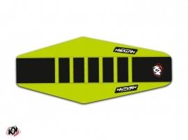 Housse de selle Kutvek Kawasaki 450 KXF 2012-2015 Vert Noir