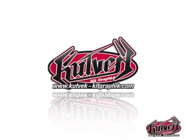 KUTVEK Stickers Accessories Graphic kit