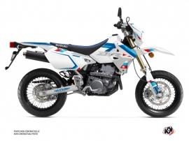 Suzuki DRZ 400 SM Dirt Bike Label Graphic Kit White