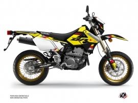Suzuki DRZ 400 SM Dirt Bike Label Graphic Kit Black