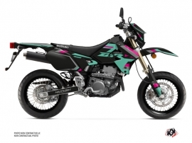 Kit Déco Moto Label Suzuki DRZ 400 SM Turquoise