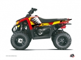 Kit Déco Quad Last Edition Polaris Scrambler 500 Jaune