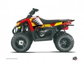 Kit Déco Quad Last Edition Polaris Scrambler 500 Jaune