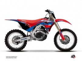 Honda 250 CRF Dirt Bike League Graphic Kit Red