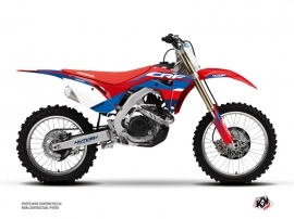 Honda 450 CRF Dirt Bike League Graphic Kit Red