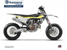 Kit Déco Moto Cross Legend Husqvarna 450 FS Noir