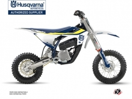 Husqvarna EE-5 Dirt Bike Legend Graphic Kit Blue
