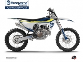Kit Déco Moto Cross Legend Husqvarna FC 350 Bleu