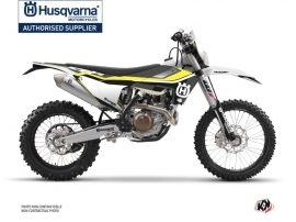 Husqvarna 350 FE Dirt Bike Legend Graphic Kit Black