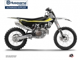 Husqvarna TC 125 Dirt Bike Legend Graphic Kit Black