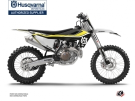 Husqvarna TC 250 Dirt Bike Legend Graphic Kit Black