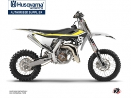 Husqvarna TC 65 Dirt Bike Legend Graphic Kit Black