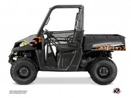 Polaris Ranger 570 UTV Lifter Graphic Kit Orange