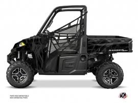 Polaris Ranger 900 XP UTV Squad Graphic Kit Black Grey
