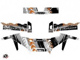 Polaris Ranger 900 UTV Lifter Graphic Kit Orange