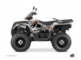 Polaris 570 Sportsman Touring ATV Lifter Graphic Kit Orange