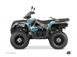 Kit Déco Quad Lifter Polaris 570 Sportsman Touring Orange Bleu