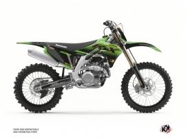 Kawasaki 250 KXF Dirt Bike Live Graphic Kit Gold