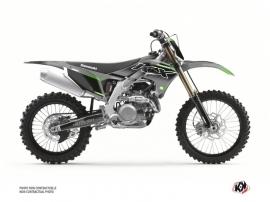 Kawasaki 250 KXF Dirt Bike Live Graphic Kit Grey