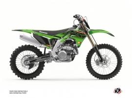 Kawasaki 250 KXF Dirt Bike Live Graphic Kit Green
