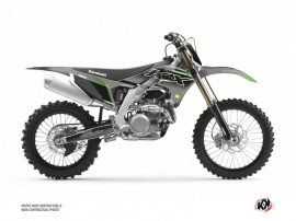 Kawasaki 450 KXF Dirt Bike Live Graphic Kit Grey