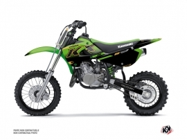 Kawasaki 65 KX Dirt Bike Live Graphic Kit Gold