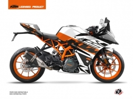 KTM 125 RC Street Bike Mass Graphic Kit Orange