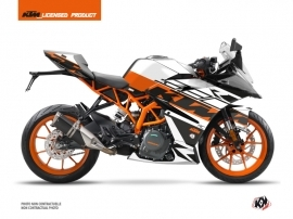 Kit Déco Moto Mass KTM 390 RC Orange