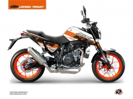 KTM Duke 690 R Street Bike Mass Graphic Kit Orange