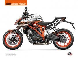 KTM Super Duke 1290 R Street Bike Mass Graphic Kit Orange