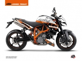 KTM Super Duke 990 Street Bike Mass Graphic Kit Orange