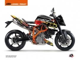 Kit Déco Moto Mass KTM Super Duke 990 R Noir Jaune