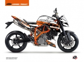 KTM Super Duke 990 R Street Bike Mass Graphic Kit Orange