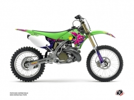 Kit Déco Moto Cross Memories Kawasaki 125 KX