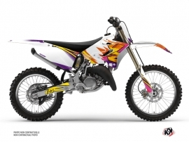 Yamaha 125 YZ Dirt Bike Memories Graphic Kit