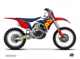 Honda 250 CRF Dirt Bike Memories Graphic Kit