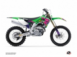 Kawasaki 450 KXF Dirt Bike Memories Graphic Kit
