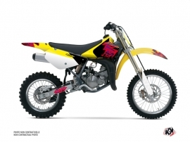 Suzuki 85 RM Dirt Bike Memories Graphic Kit