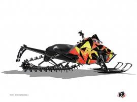 Kit Déco Motoneige METRIK Arctic Cat Pro Climb Neon Rouge
