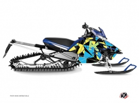 Kit Déco Motoneige Metrik Yamaha SR Viper Bleu Jaune