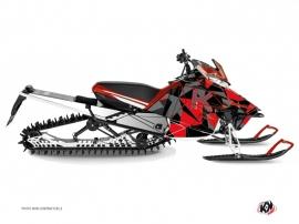 Kit Déco Motoneige Metrik Yamaha SR Viper Rouge Gris