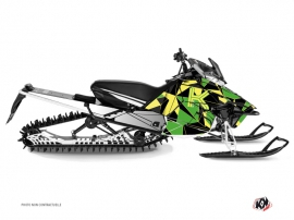 Kit Déco Motoneige Metrik Yamaha SR Viper Vert Jaune