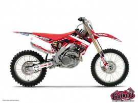 Kit Déco Moto Cross Replica Team Pichon Honda 450 CRF 2012