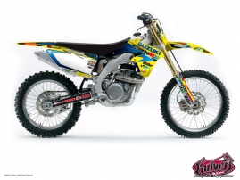 Kit Déco Moto Cross Replica Team Pichon Suzuki 450 RMZ 2013